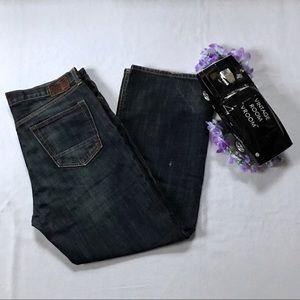Banana Republic Straight Leg Jeans Men 35/30